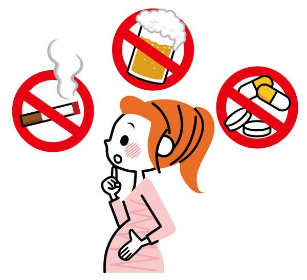 妊婦、禁止