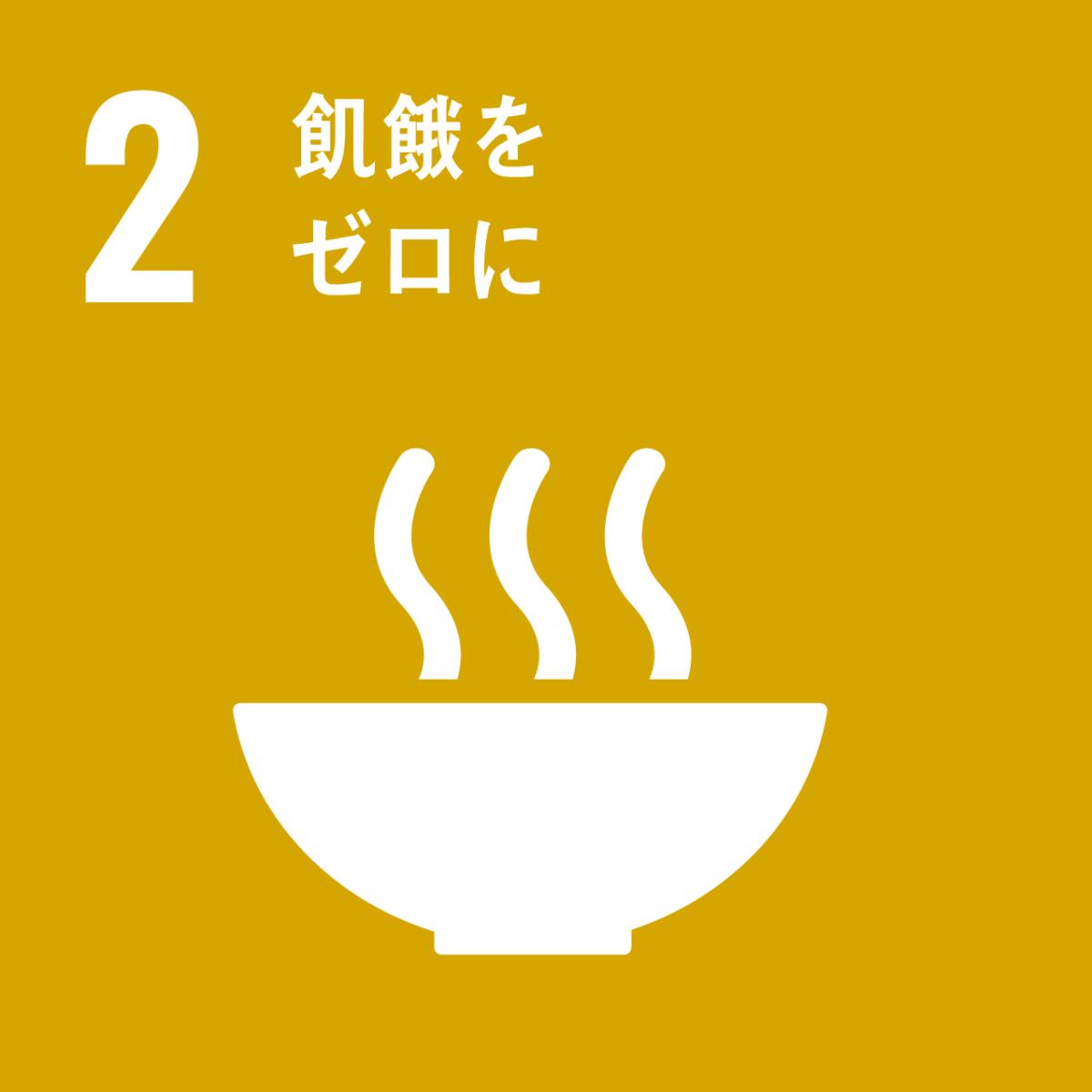 SDGs 飢餓をゼロに